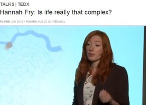 Hannah Fry TED Talk